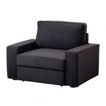 ВИЛАСУНД/ МАРИЕБЮ Кресло-кровать, Дансбу темно-серый, 799.069.43