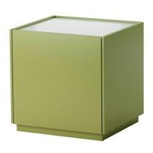 НИВОЛЛЬ Тумба прикроватная, зеленый, белый 802.180.19