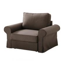 БАККАБРУ/ МАТТАРП Кресло-кровать, Йонсбуда коричневый,490.069.20